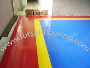 lapangan-futsal flooring