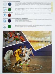 flooring-vinyl fitsal badminton
